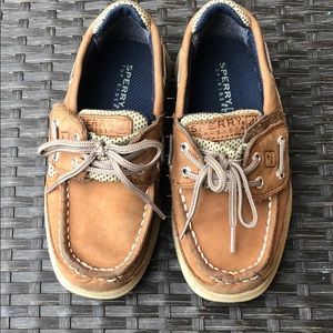 Sperry Toddler Boy size 10 shoes